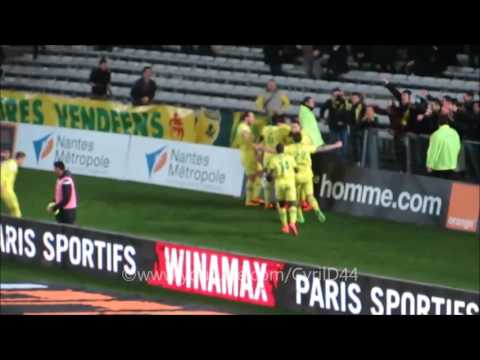 Nantes 2-1 Lorient Samedi 13 Février 2016