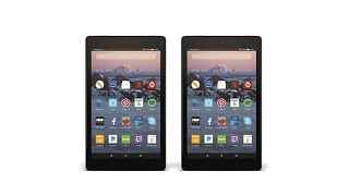 2pk 2017 Fire HD 8 16GB Tablets w/Alexa and Caseable