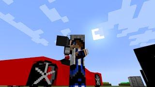 Minecraft - Carros ,Robôs e Aviões . (flans mod)