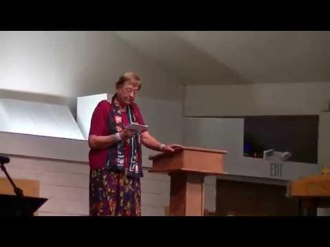 Mary Decker Preaches 5-24-15