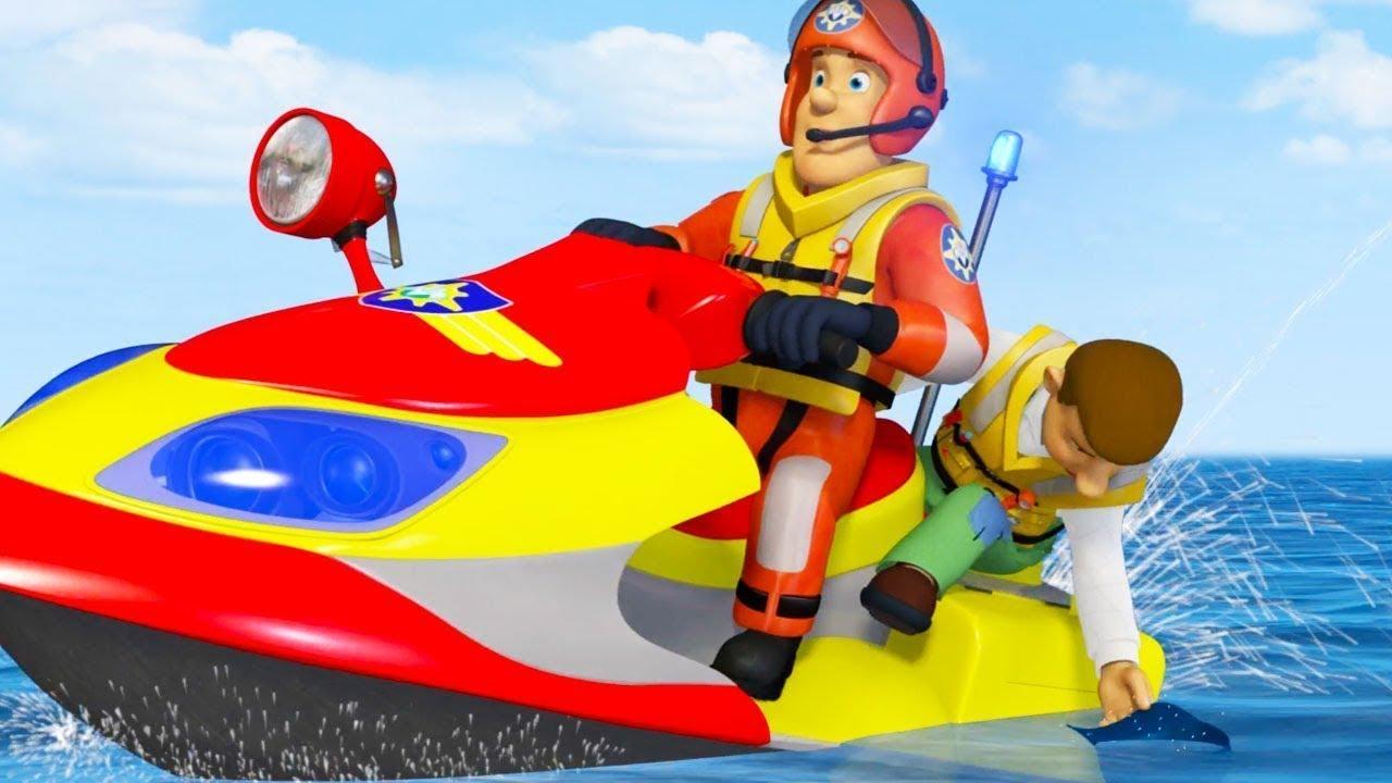 Nouveau sam le pompier francais r gles de pool sam et l 39 quipe dessins anim s youtube - Dessin anime de pompier sam ...