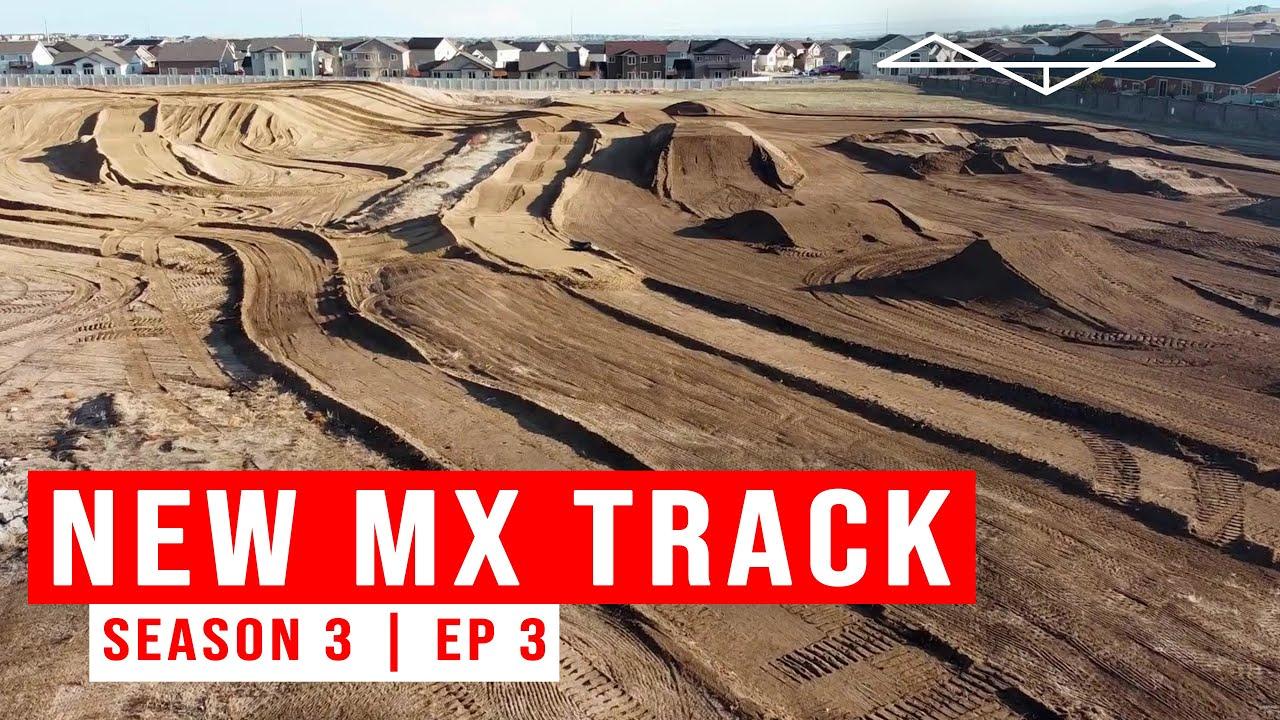 Building my new MOTOCROSS TRACK   Season 3 EP 3