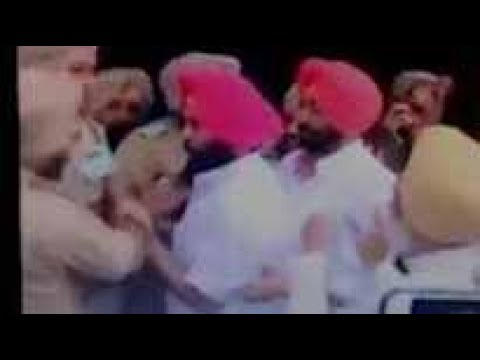 Scuffle breaks out between AAP MLA, Bains brothers & security officials
