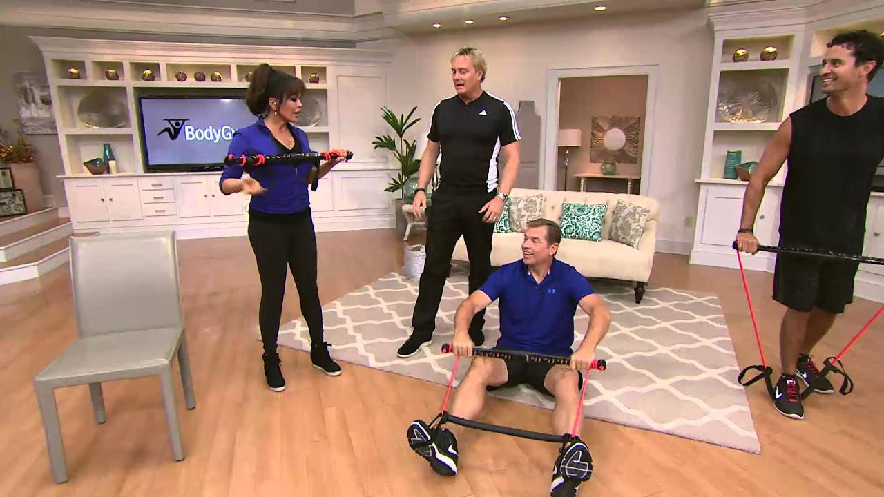 Superbe BodyGym Portable Home Gym Resistance System With Rick Domeier