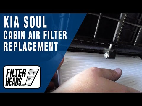How to Replace Cabin Air Filter 2013 Kia Soul