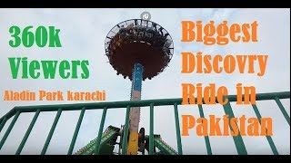 One of the Most Dangerous Ride over..in Karachi(Aladin park) Pakistan..Must watch