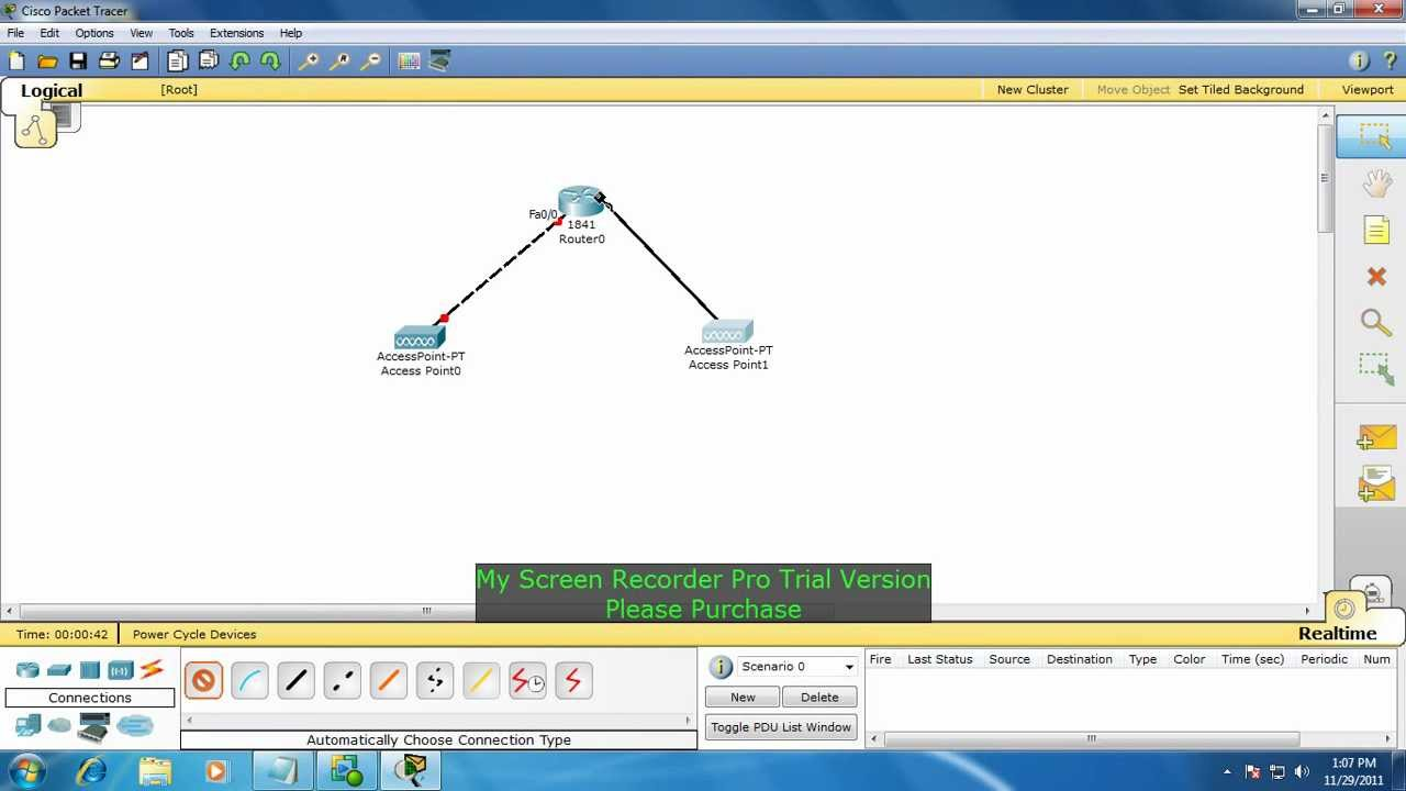 How To Configure Access Point Using Packet Tracer Youtube