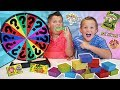 Kids Mystery Sour Candy Game! Eat What's Inside The Box! Toxic Waste & Warhead