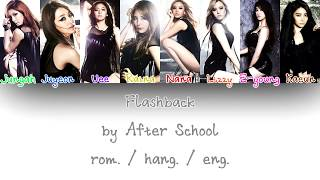 Gambar cover After School (애프터스쿨) - Flashback (Color Coded Han/Rom/Eng Lyrics)