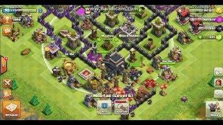 Cheat Clash Of Clans Klik TOWN HALL Langsung DC (Disconnect)
