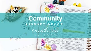 Bible Journaling with Lindsey | Community | October 2018 Faith Art Box
