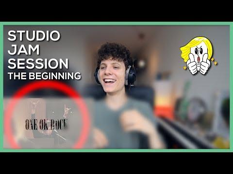 ONE OK ROCK - The Beginning Live • Studio Jam Session   Reaction Video   Fannix.