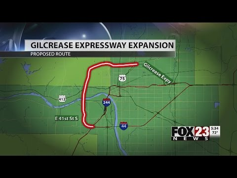 VIDEO: Highway expansion slated for Tulsa