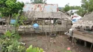 Sulawesi, Indonesia. Pueblo de North Sulawesi. Abril de 2014.