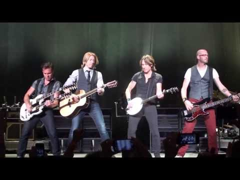 Keith Urban - Concert Intro - Light The Fuse Tour 2013
