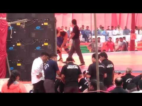 Senior wrestling at Nandini Nagar gonda(1)