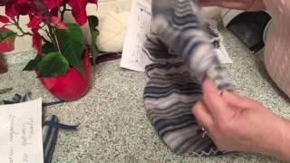 Носки из испорченного свитера