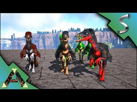 MUTATED TROODON PACK! BREEDING FOR TROODON MUTATIONS! - Ark: RAGNAROK [DLC Gameplay E34]
