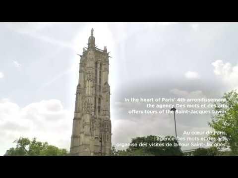 Dans les coulisses de la tour Saint Jacques avec Paris Worldwide