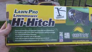 Great Day Riding Mower Towing Hitch
