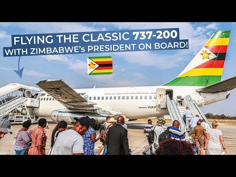 TRIPREPORT | Air Zimbabwe (ECONOMY) | Boeing 737-200 | Victoria Falls - Harare
