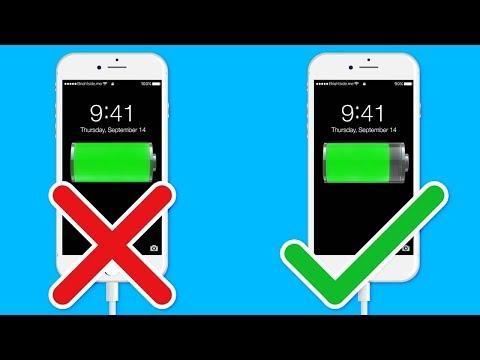 Как нужно заряжать телефон