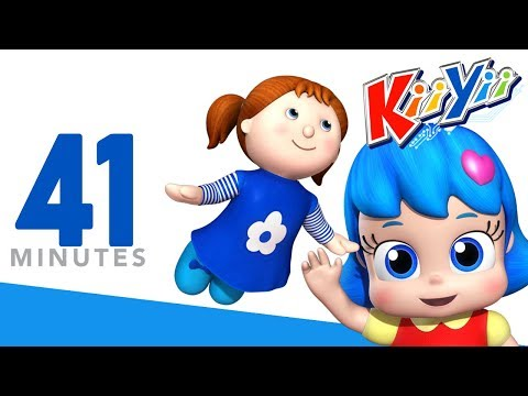 I Have A Little Doll All Dressed In Blue | Plus More Nursery Rhymes | 41 Mins from KiiYii!
