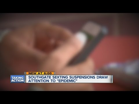 Students suspend for sexting in Southgate