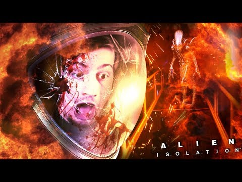 NO TIME TO EXPLAIN.. JUST RUN!! || Alien Isolation (Part 11)