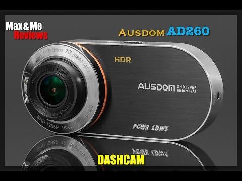 Ausdom AD260 Dash Camera Review