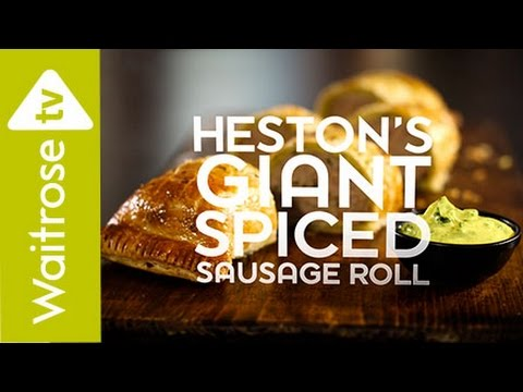 Heston Blumenthal's Giant Spiced Sausage Roll | Waitrose