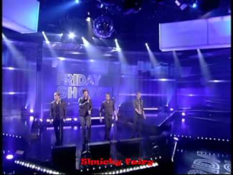 Westlife The Difference on The Friday Show 4dec09