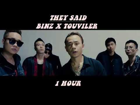 BINZ X TOULIVER | THEY SAID | 1 HOUR + LYRICS |