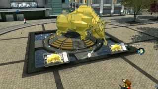Repeat youtube video LEGO City Undercover 100% Guide - Downtown (Overworld Area) - All Collectibles