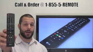 LG AKB72915239 Remote Control - www.ReplacementRemotes.com