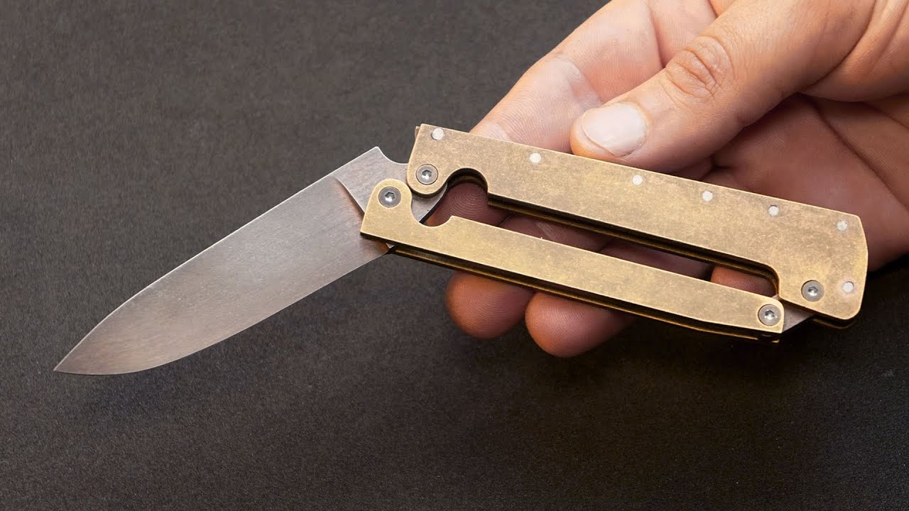 Knife Making - Lever Folder Knife