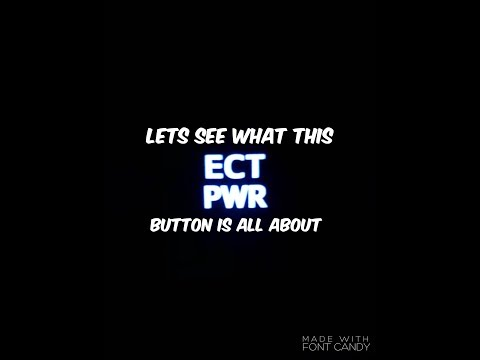 Lets See What This ECT PWR Button Is All About On The Toyota Tacoma!