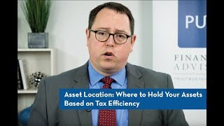 Asset Location: Where to Hold Your Assets Based on Tax Efficiency