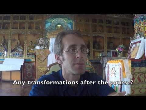 Tibetan buddhism and meditation course experience in Kopan monastery. Chris Holme
