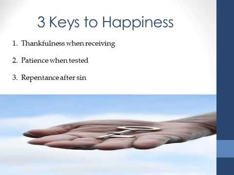The Keys to Happiness - Islamic Guidance to Mental Health and Well-being