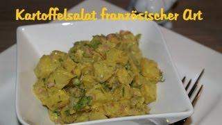 Leckerer Kartoffelsalat Französischer Art- Ein Muss Auf Jeder Grillparty! Potato Salad Recipe!