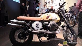 2015 Moto Guzzi V7 II Milleprecento Custom Bike - Walkaround - 2014 EICMA Milan