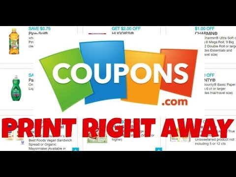 New Coupons to Print May 19th 2019