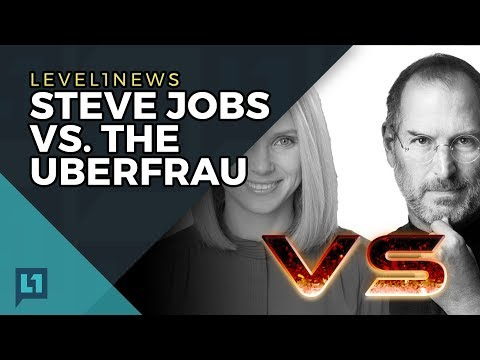 Level1 News August 8 2017: Steve Jobs vs. The Uberfrau