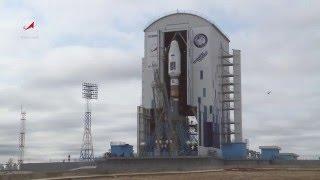 Космодром Восточный. Вывоз РКН Союз-2.1а с КА Ломоносов, Аист-2Д, SamSat-218