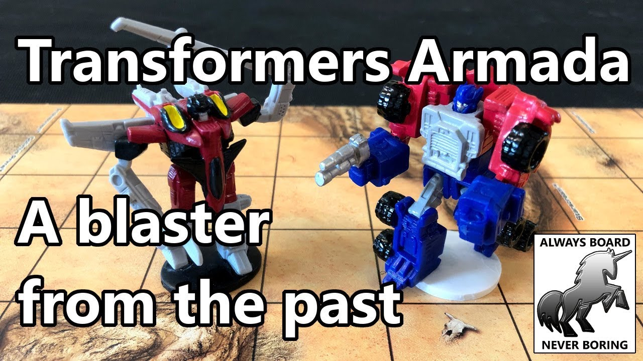 Looking at Transformers Armada: Battle for Cybertron, Precursor to Unmatched: Battle of Legends