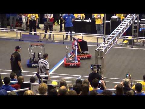 FRC 2014 Championship Curie Div Match # 46 FIRST Robotics CMP