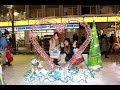 「博多デカっ娘クラブ」in札幌・2日目2~番外編・夜のすすきの散策と氷の祭典~ ♪Farewell My Hero・Catch Up!/APOLON(QBC)