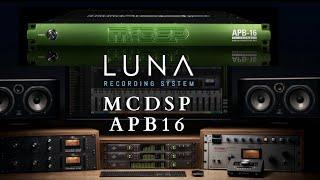 Universal Audio LUNA - McDSP APB 16