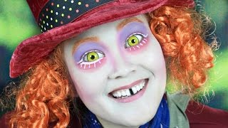alice through the looking glass mad hatter makeup tutorial